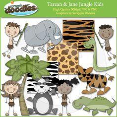 Tarzan & Jane Jungle Kids Download