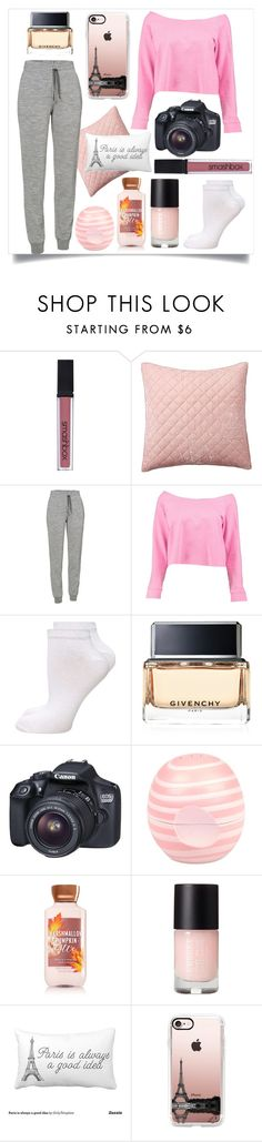 """""""Samedi Soir"""" by elivaughan ❤ liked on Polyvore featuring Smashbox, Pottery Barn, Icebreaker, Boohoo, Dorothy Perkins, Givenchy, Canon, River Island and Casetify"""