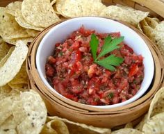 The Other Side of Fifty: Fresh Tomato Salsa