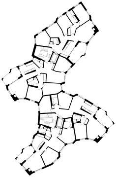 Since 1998 the Web Atlas of Contemporary Architecture Organic Architecture, Concept Architecture, Residential Architecture, Contemporary Architecture, Architecture Design, Iris, Retail Branding, Plan Drawing, Architecture Magazines