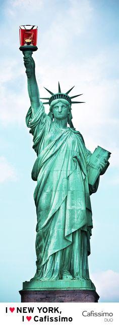 Lust auf #New #York? Dann sichert euch jetzt die #Cafissimo #DUO mit zwei Reisegutscheinen im Wert von je 100 Euro! #Tchibo