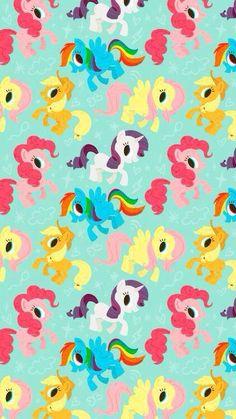 my little pony, wallpaper