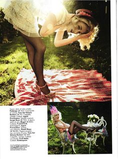 visual optimism by mari sarai for vanity fair italia no.26 4th july 2012- in love with this playful 50's with a twist look
