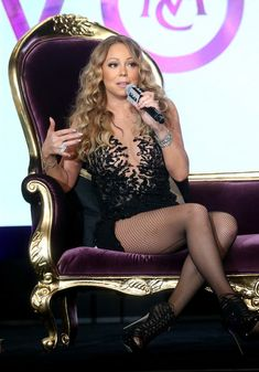 Mariah Carey Photos - Mariah Carey speaks onstage at the 'Mariah's World' panel…