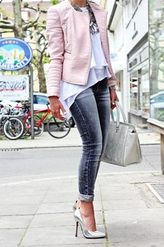 FashionHippieLoves: pastel grey outfit