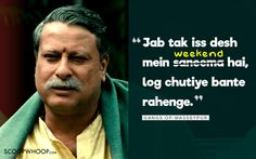 10 Quirky Bollywood Dialogues That Perfectly Explain Why Mondays Are So Khooni