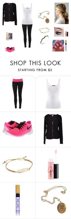 """""""The Hale Twins #23"""" by jazmine-bowman on Polyvore featuring Branded Ego, Ralph Lauren, NIKE, Velvet by Graham & Spencer, Kendra Scott, MAC Cosmetics and Cullen"""