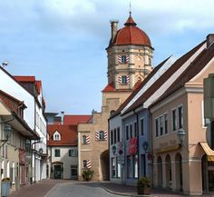 Aichach - my grandparents lived here once.