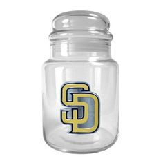 San Diego Padres 31Oz. Glass Candy Jar by Great American Products. $24.99. The perfect compliment to your Bar or Game Room decor.. Handcrafted high-quality logo. High quality collectible design. San Diego Padres 31oz. Glass Candy Jar