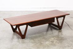 Mid Century Coffee Table by Lane by VintageSupplyLA on Etsy