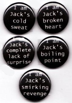 I am jacks complete lack of surprise.