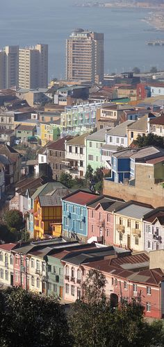 Valparaiso, Chile - South America trip, Jun 2010