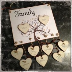 Hobbies And Crafts, Diy And Crafts, Arts And Crafts, Wooden Art, Wooden Crafts, Family Crafts, Frame Crafts, Pallet Art, Box Frames