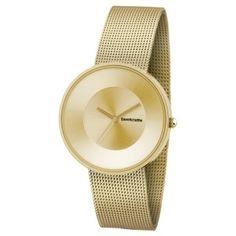 Elegante Reloj Mujer Lambretta Colección Cielo Mesh Dorado con Correa de Tipo Malla en color Oro http://www.tutunca.es/reloj-cronografo-gran-prix-acero-blanco