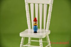 Dollhouse miniature toy clown. by creahobby on Etsy