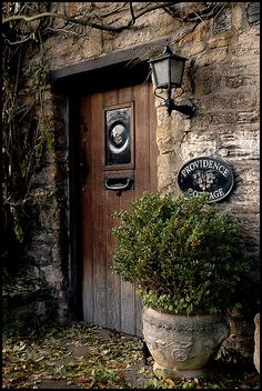 Cottage Door, Cotswolds | by Andrew Stawarz