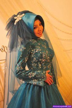 Tesettürlü nişan başı modelleri 2014 8 - 2014 Prenses Gelinlik Modelleri