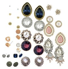 """Earrings"" by tamara-douglas ❤ liked on Polyvore featuring women's clothing, women, female, woman, misses and juniors"