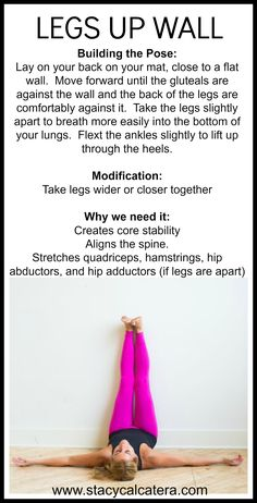 #stacycalcatera #yoga #legsupwall