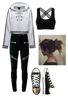 """Untitled #14"" by crimson-styler333 on Polyvore featuring Puma, Givenchy and Converse"