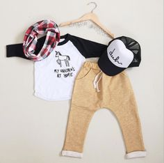 cute outfit for our little man #babyclothing #coolkid