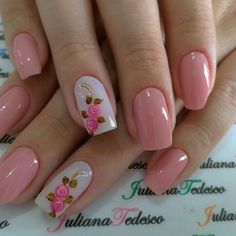 10 Amazing Spring Nail Art Designs That You Should Try Asap Elegant Nail Designs, Short Nail Designs, Elegant Nails, Nail Art Designs, Fabulous Nails, Perfect Nails, Gorgeous Nails, Spring Nail Art, Spring Nails