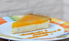 cheescake with mandarin