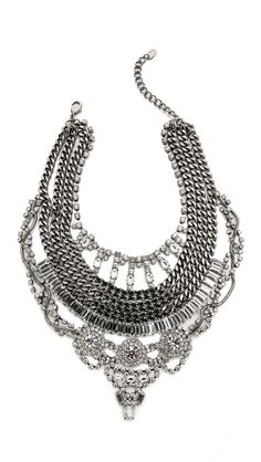 Shay Accessories Crystal Statement Necklace