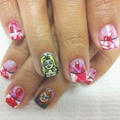 Pin for Later: These Horror-Movie Manicures Will Make You Pumped For Halloween Bride of Chucky