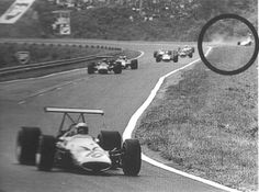 Jo Schlesser 1968 French Grand Prix at Rouen F1 Crash, Honda, Race Engines, F1 Drivers, Indy Cars, Car And Driver, Jaba, Formula One, Sport Cars