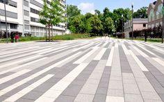BIERBAUM.AICHELE.landschaftsarchitekten: Landscape Plaza, Landscape Pavers, Urban Landscape, Landscape Architecture, Lanscape Design, Paving Design, Paving Texture, Paving Pattern, Linear Pattern