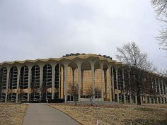 Learning Resources Center at Oral Roberts University in Tulsa, Oklahoma