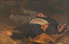 Renato Guttuso - Uomo che dorme (1938)