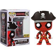 Funko POP! Marvel Deadpool Vinyl Bobble Head [Pirate] - Walmart.com