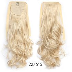 Ponytail Hair Extension Piece Wavy Tie On Long Sexy Synthetic Best Quality Wavy Ponytail, Clip In Ponytail, Ponytail Hairstyles, Blonde Hair Extensions, Ponytail Hair Extensions, Wig Styles, Long Hair Styles, Drawstring Ponytail, Beige Blonde