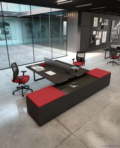 new operative system Office Table, Home Office, Bureau Open Space, Contemporary Office, Modern, Office Space Design, Meeting Table, Office Environment, Work Surface