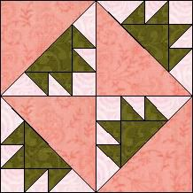 """Quilt-Pro Systems - Quilt-Pro - Block of the Day """"Palm Leaves""""--The Block of the Day is available to all quilters, regardless of whether you own our software programs. You can download the Block of the Day as a .pdf file"""