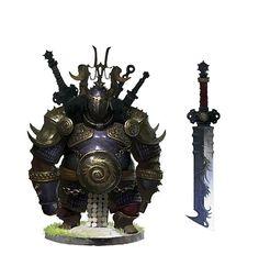 Troll, ogre, Orc, or dwarf armor