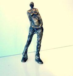 Pregnant woman bronze sculpture pregnancy gift pregnancy art bronze gift for her Pregnant woman art pregnancy announcement