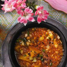 Linsen-Paprika-Suppe