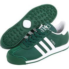 adidas samoa dark green