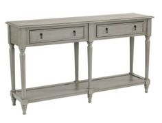 media console table option