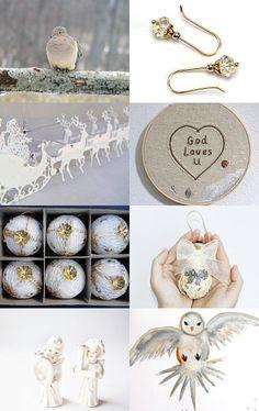 White by Nadia, Shop: almondtreeart    --Pinned with TreasuryPin.com