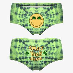 Smile High Club Boy short underwear from www.shopstaywild.com