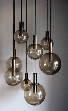 Vintage Raak chandelier via Sean Michael Design
