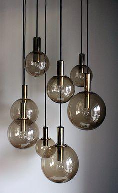Vintage Raak chandelier via Sean Michael Design