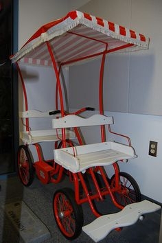 We had a Jim Dandy Surrey like this when I was a child.  Wish I still had it!!