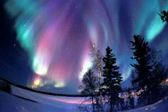 Canadian view of Northern Lights