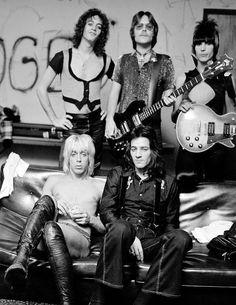 "johnnythehorsepart2: ""Iggy Pop & The Stooges 1973 """