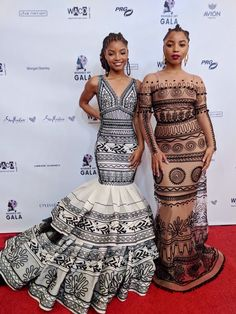 chloe x halle at the wearable art gala African Wear, African Dress, African Fashion, Teen Choice Awards, Chloe Halle, Looks Instagram, Peplum Dress, Dress Up, Pretty Hurts